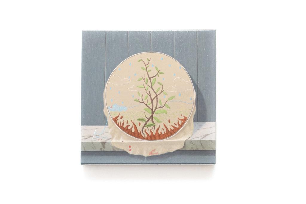 acrylic on canvas - 30x30cm - 2019