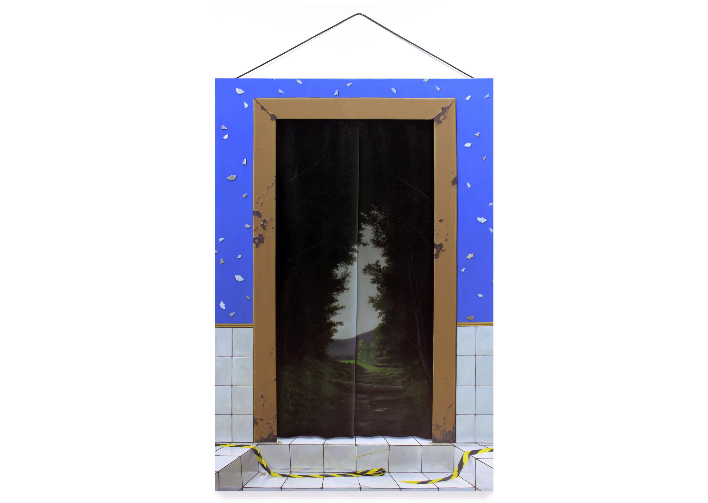 """""""di cuore"""" - acrylic on canvas - 130x80cm"""